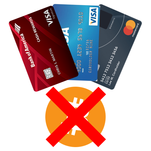 Payment Declined – Credit Card Companies Ban Crypto Purchases