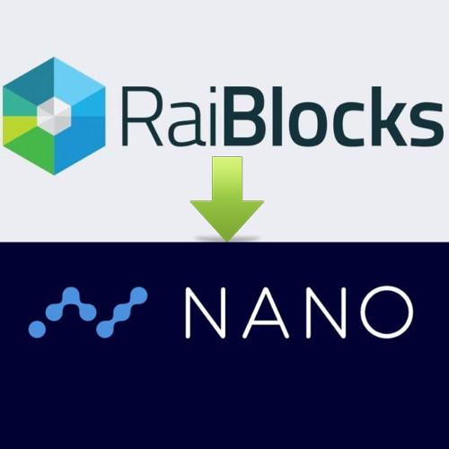 RaiBlocks (XRB) Re-Brands as Nano